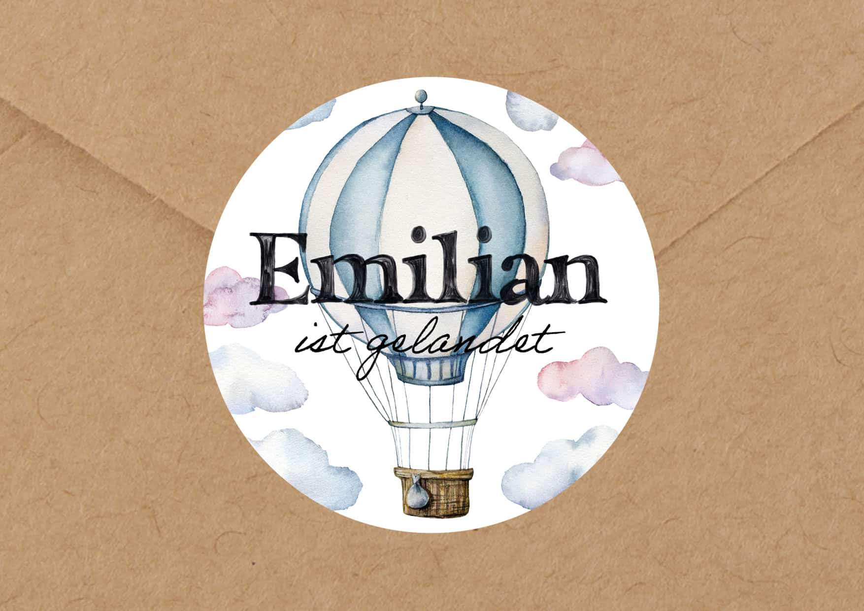 Babydesign Emilian Aufkleber