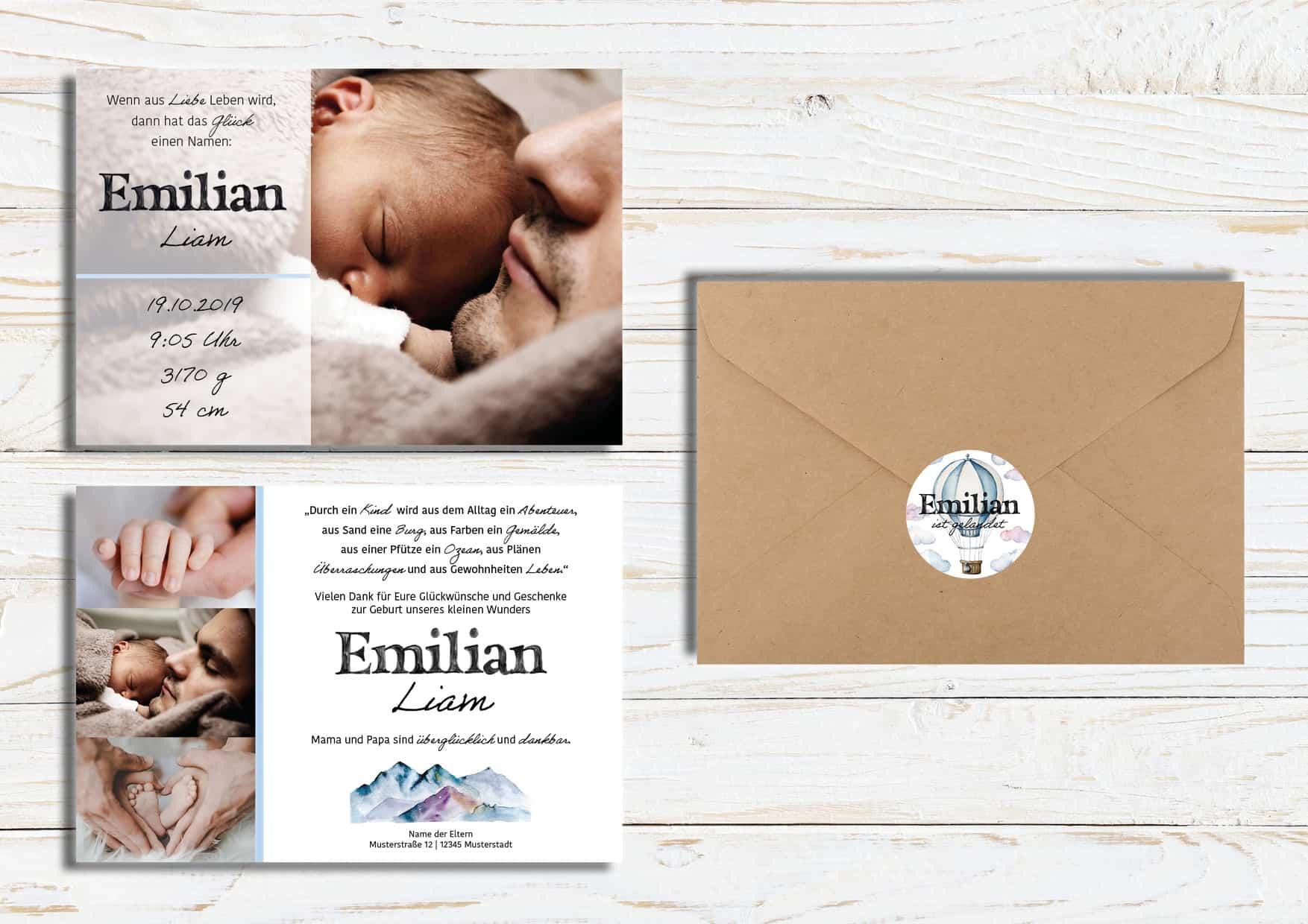 Eventdesign Babydesign Emilian