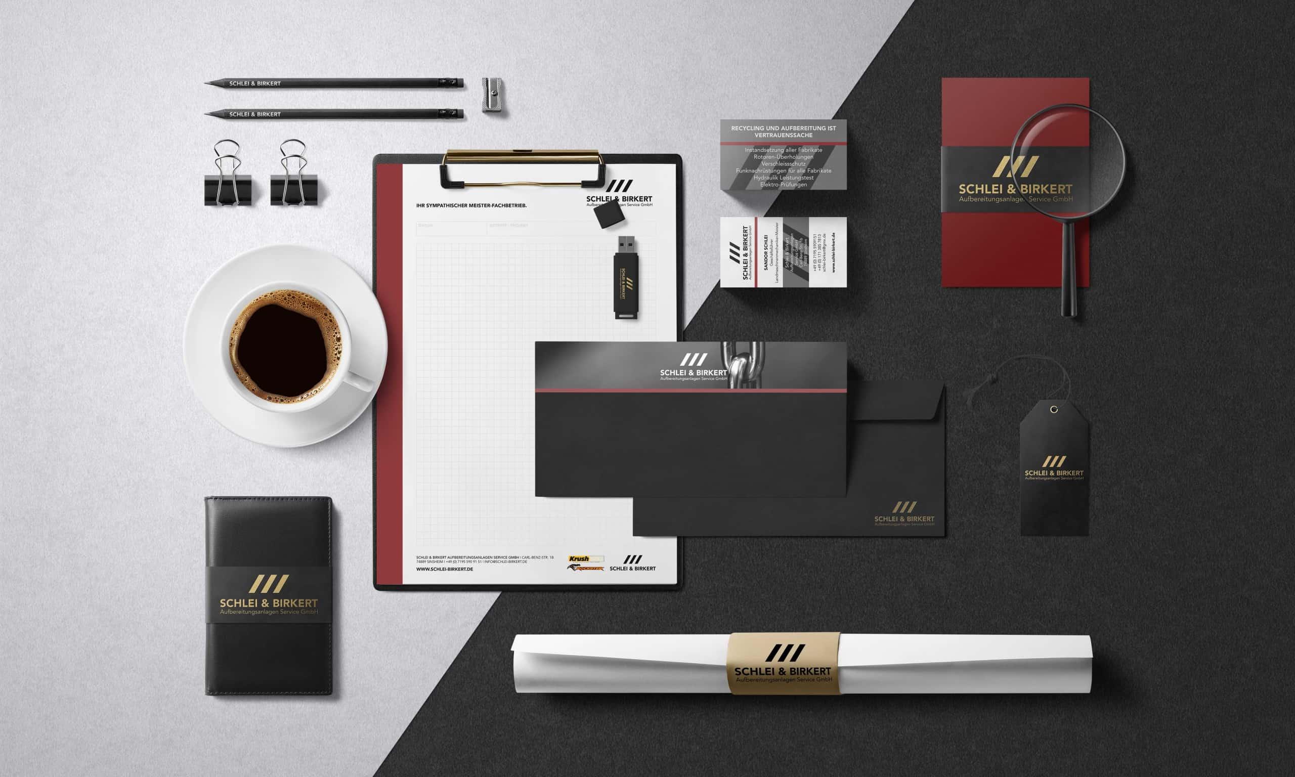 Firmendesign-Geschäftsausstattung