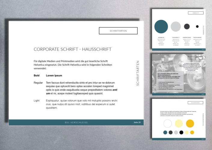Corporate Design   Branding: B.S.L. Verschleißschutz und Stahlbau GmbH