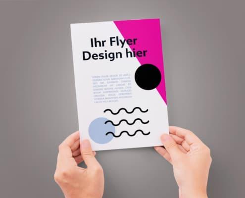 Firmendesign | Design to go Flyer