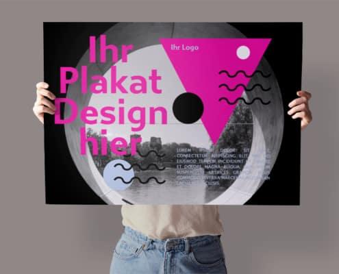 Firmendesign | Design to go Plakat