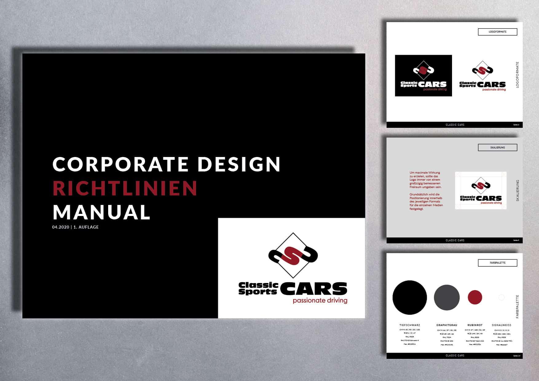 Corporate Design Classic Cars Baden-Baden | Heilbronn