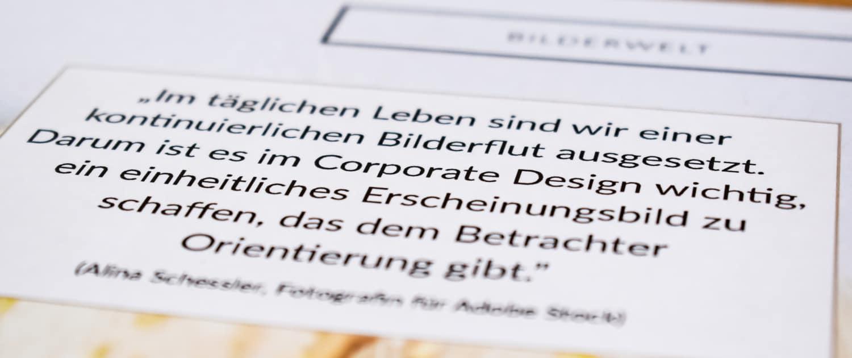 Logo mit Corporate Design